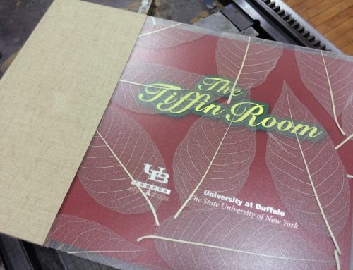 """The Tiffin Room"" Book for University at Buffalo"