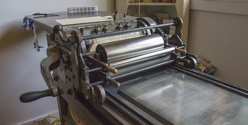 Pistachio Press- Vandercook Press