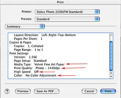 Color Management Tutorial, Printer Profiling