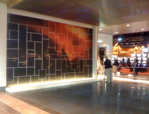 Metal Mural, Sands Casino Bethlehem, PA